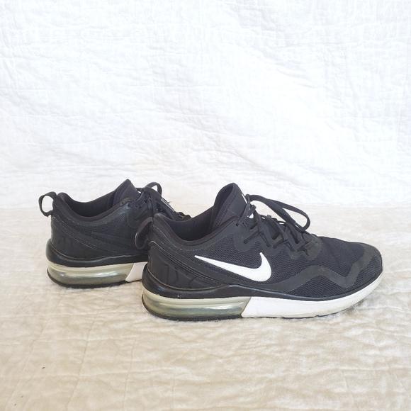 black air max shoes